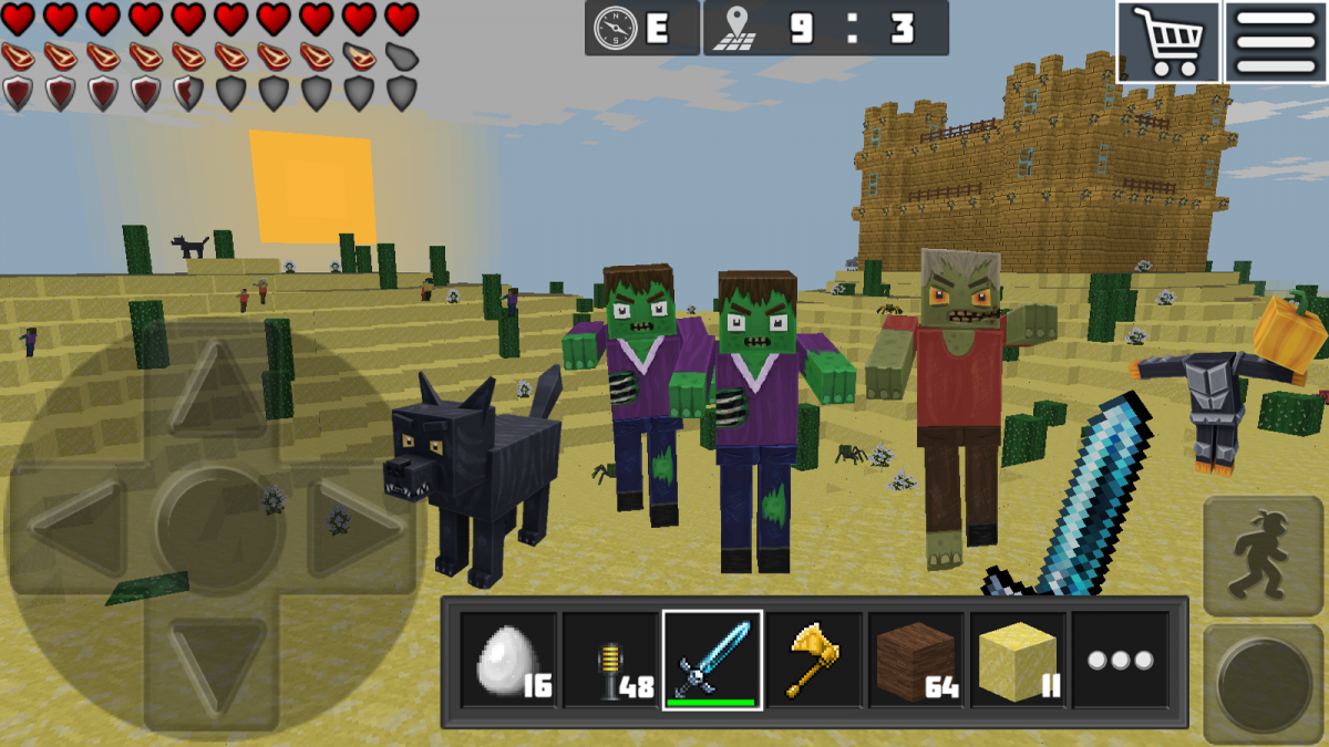 games like minecraft online