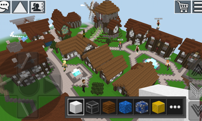 WorldCraft : 3D Build & Craft, minecraft