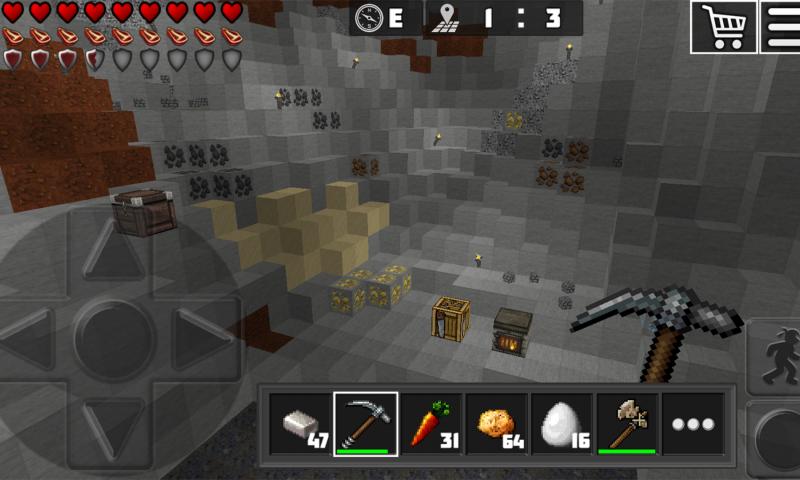 WorldCraft : 3D Build & Craft, minecraft